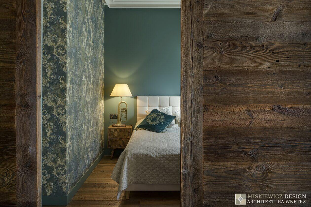 Sypialnia | proj. Miśkiewicz Design