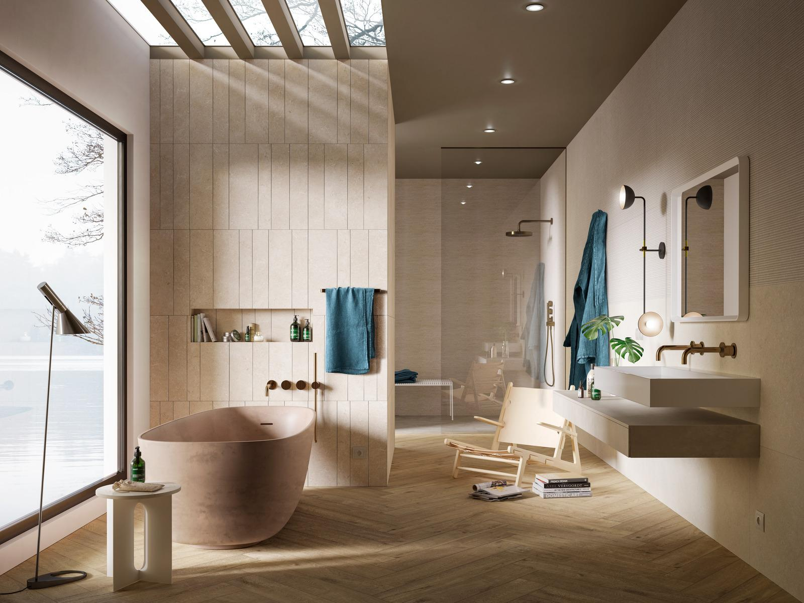 Marazzi - naturalna i elegancka łazienka