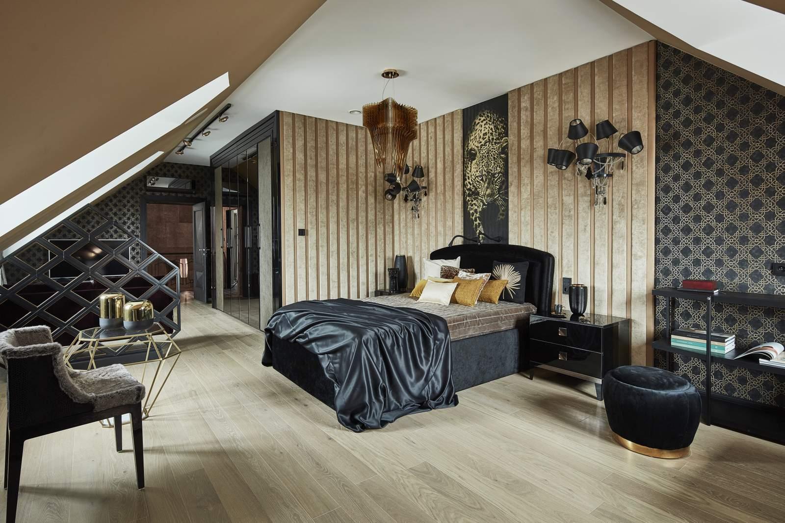Komfortowe i stylowe mieszkanie na poddaszu | Proj: Projektowanie mDom