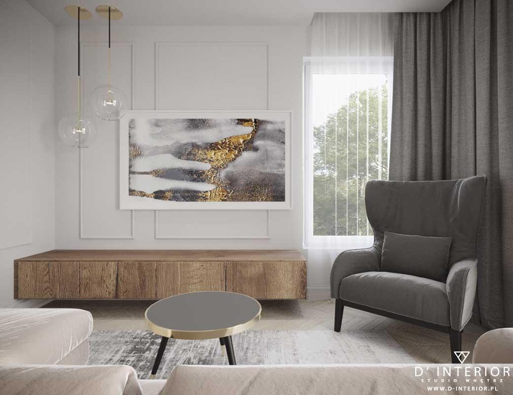 Apartament w stylu klasycznym