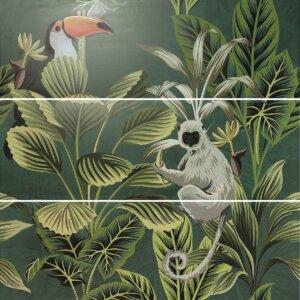 Płytki APE Ceramica Silk Def/Toucan_Green 40 × 120 cm