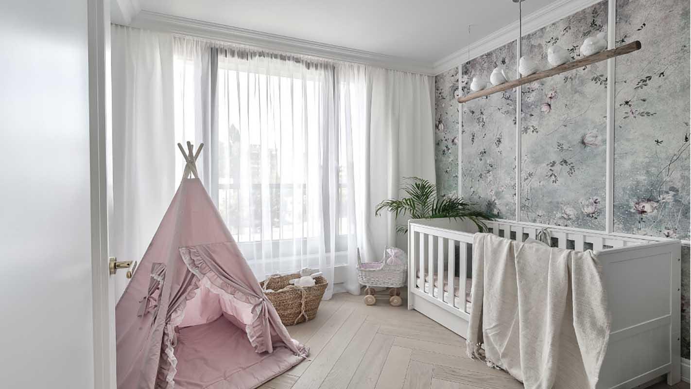 Projekt pokoju dla dziecka (Marika Kafar Autorska Pracownia Architektury Wnętrz)