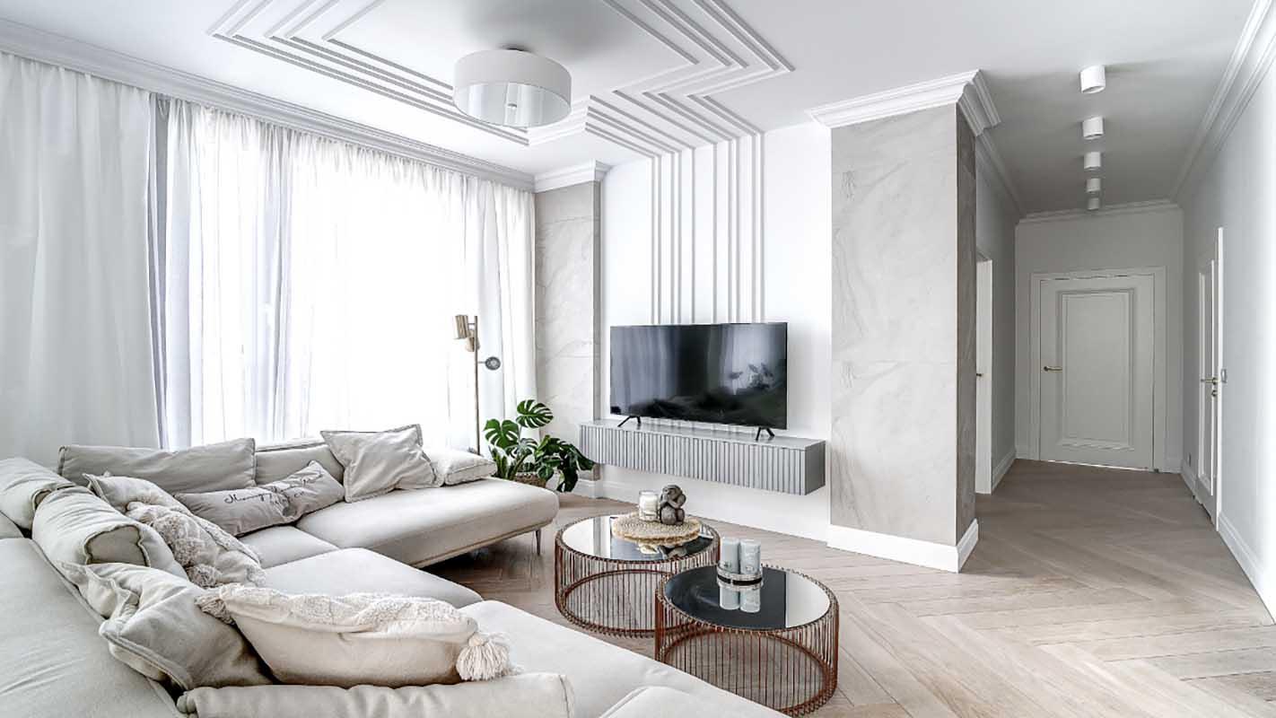 Salon | proj. Marika Kafar Autorska Pracownia Architektury Wnętrz