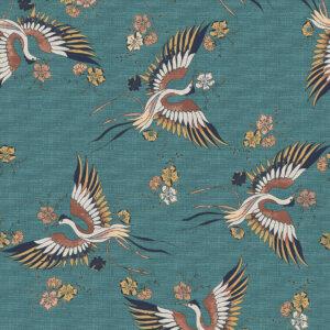 Płytki Ornamenta kolekcja Operae BIRDS 120 X 278 CM