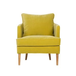 Sits Fotel z kolekcji Julia – welwet Lime