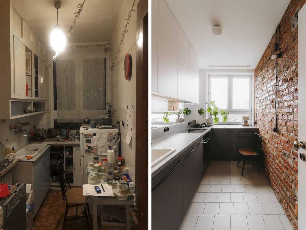 metamorfoza mieszkania z lat 60
