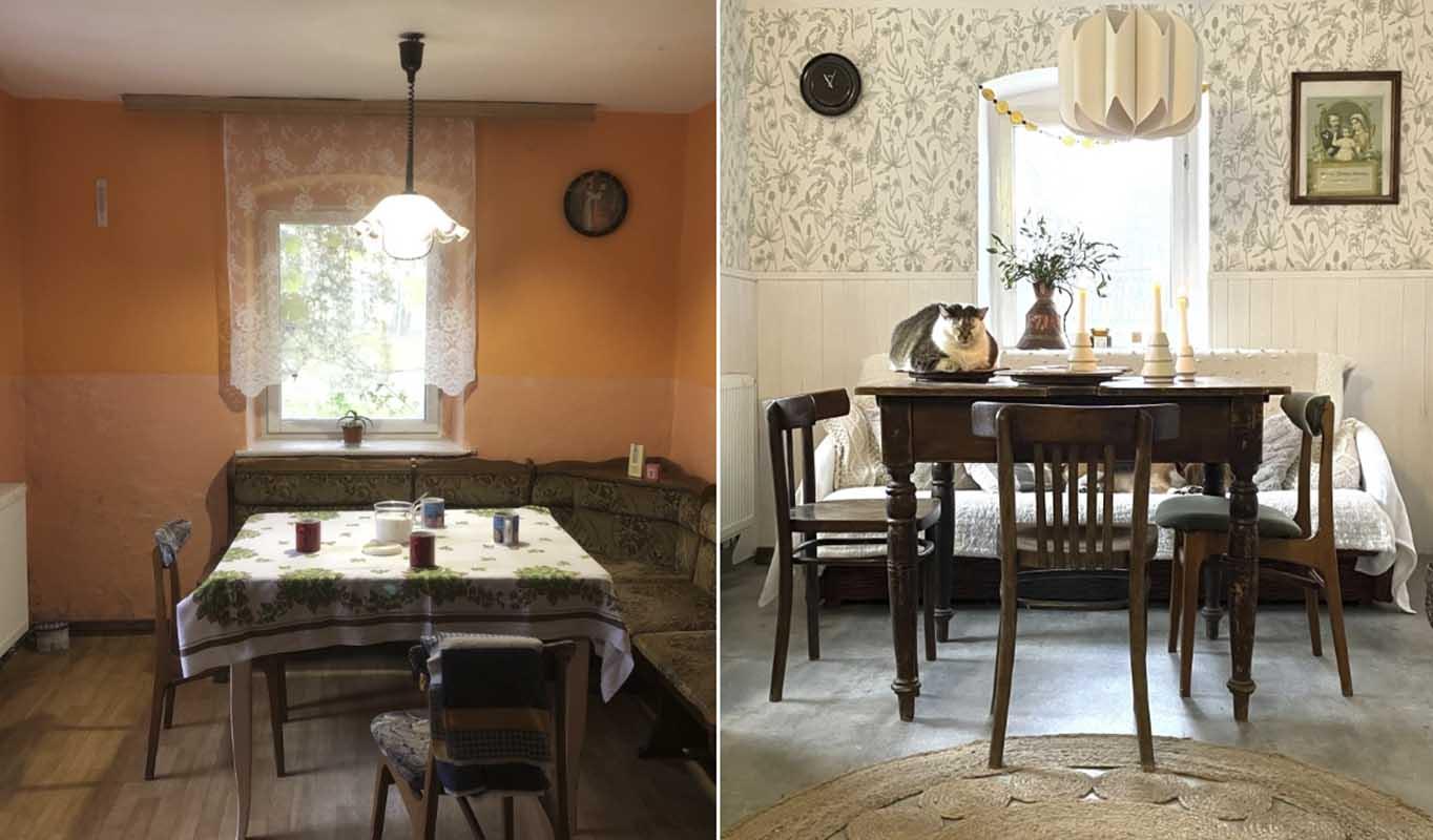 Efekty metamorfozy 100-letniego domu