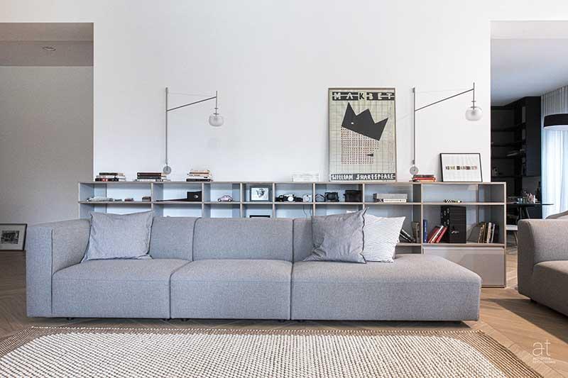 Przytulny i harmonijny 350 metrowy apartament | Proj: Adrianna Terlikowska Studio