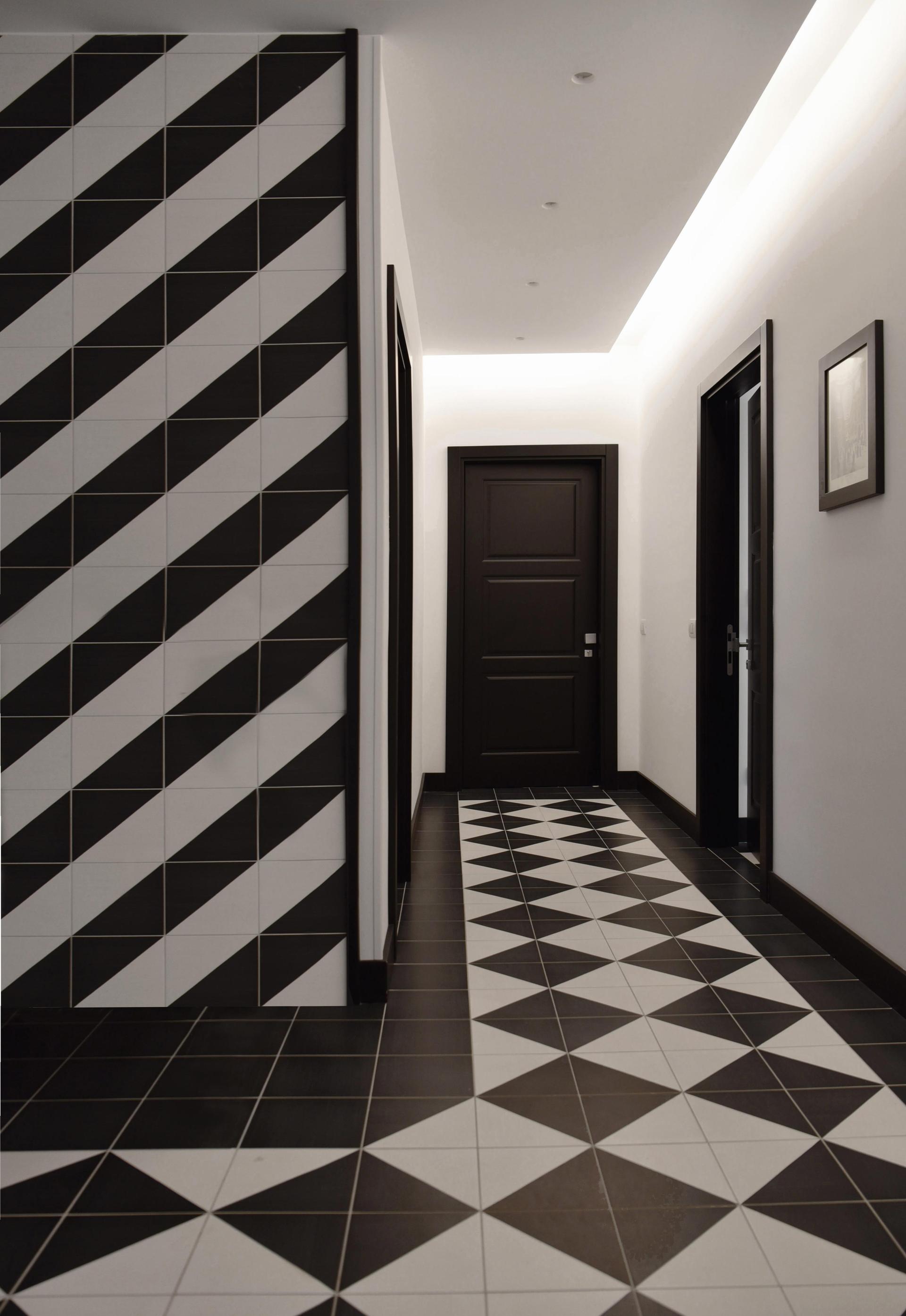 Projekt Marazzi - Dekory, geometryczne formy