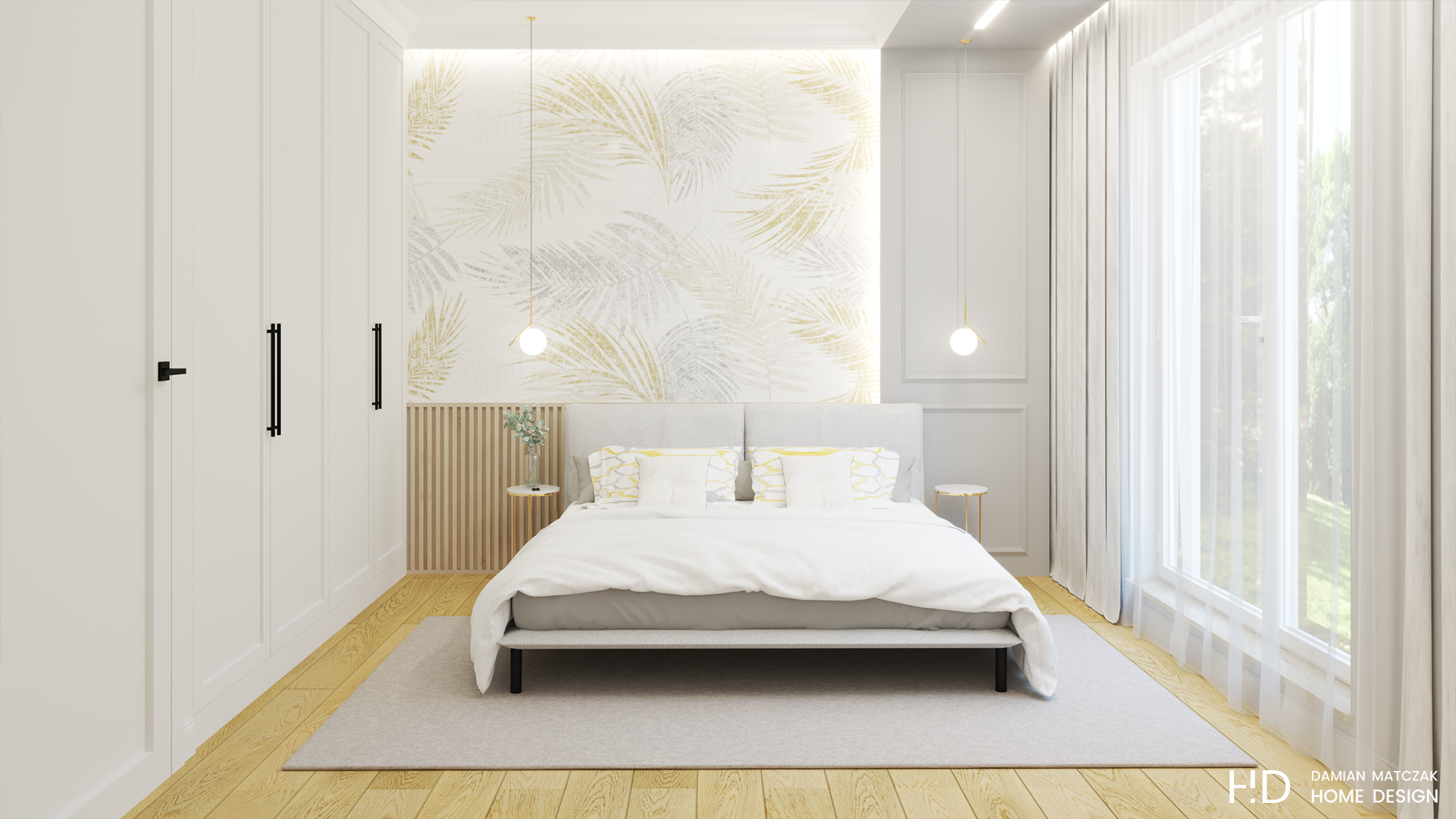 70 metrowe mieszkanie w stylu nowojorskim   Proj: Damian Matczak Home Design