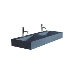 HushLab InLove umywalka wisząca 120S 120×45 kolor indigo matowy