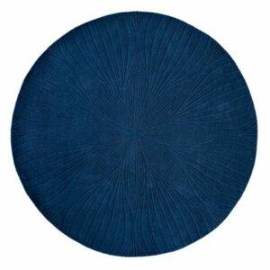 Dywan Wedgwood folia round navy 38308