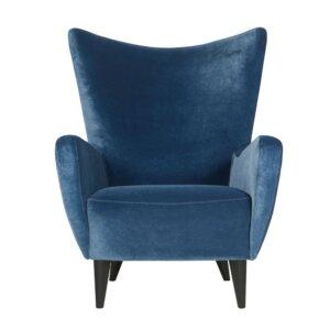 Fotel Elsa Sits velvet12 Navy Blue