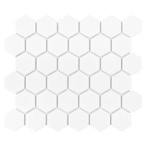 PŁYTKI DUNIN KOLEKCJA Hexagon White 51 matt