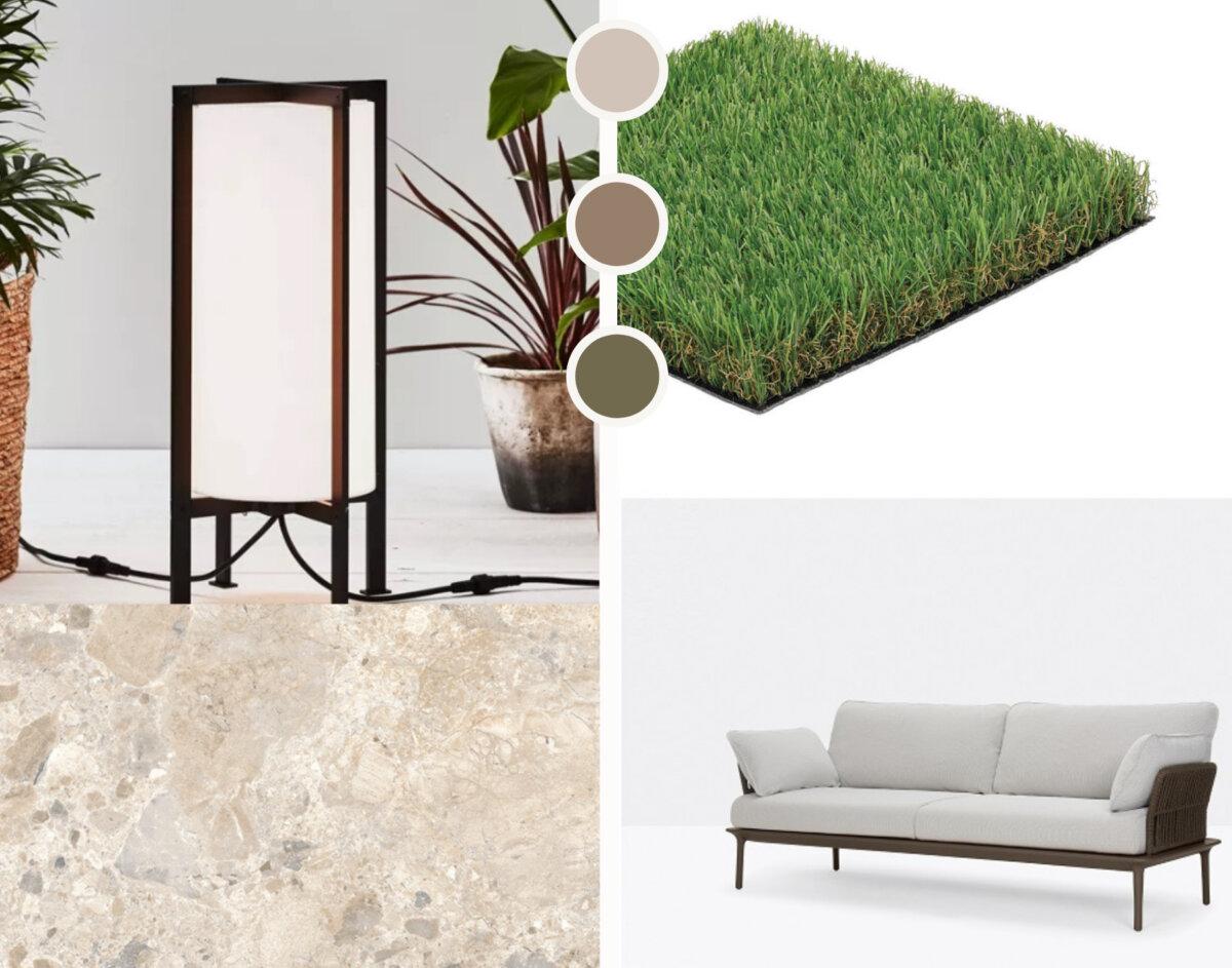 Koncept IH na taras w klimacie organicznego minimalizmu