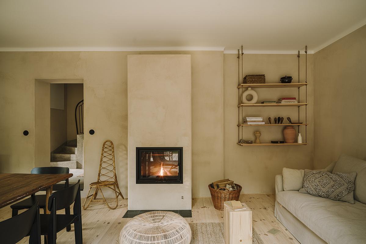 organiczny minimalizm salon