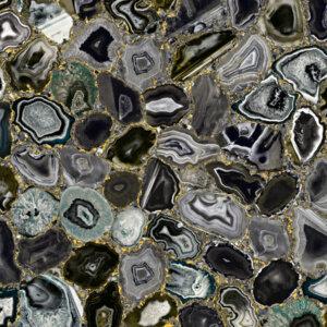 Płytka VALMORI STONE AIR PRECIOUS GOLD BLACK 100 x 300