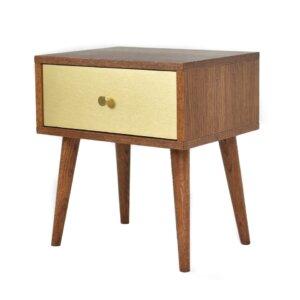 Pastform Furniture Szafka nocna Bedie Gold
