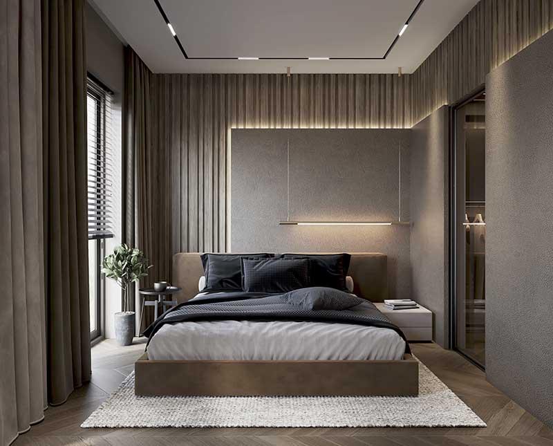 Modern Style w 194 metrowym domu   Proj: Hedo Architects