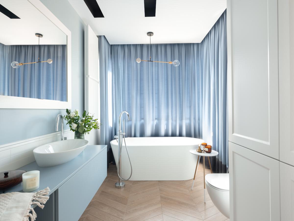Salon kąpielowy | proj. Wioletta Niedziela Bogusz / VN Design; zdj. Przemysław Kuciński