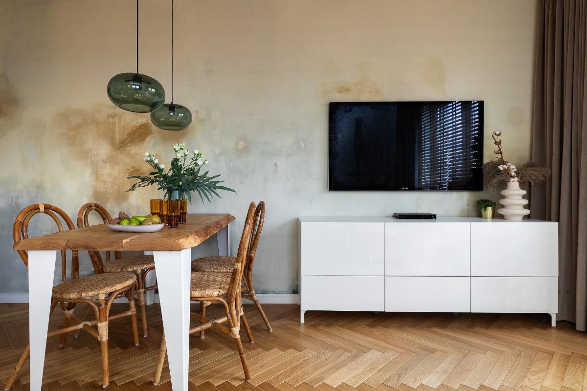 Metamorfoza białego mieszkania