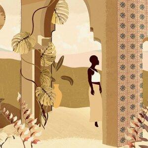 Tapeta Arte Décors & Panoramiques Les Mystères de Madagascar