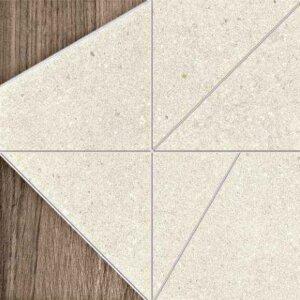 Płytki Terratinta kolekcja Grained Tangram Plate/Tortora
