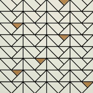 Płytki Marazzi Eclettica cream mosaico bronze 40×40