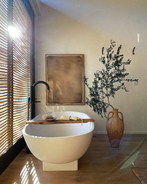 Łazienka w stylu balijskim