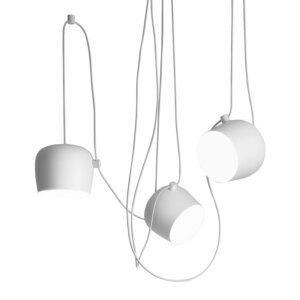 Flos lampa wisząca Aim White