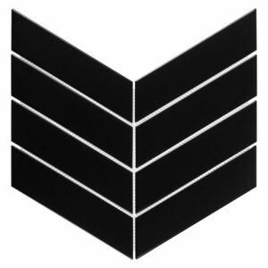 Płytki Dunin Royal Chevron Black Matt