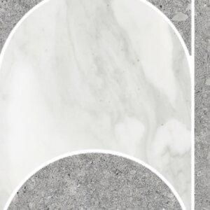 Płytki TERRATINTA Vicentina Cenere DOME SHADE 29.6 × 39.6 cm