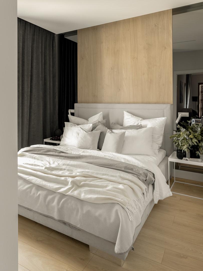 Sypialnia | proj. Studio Karton, zdj. Aleksandra Dermont