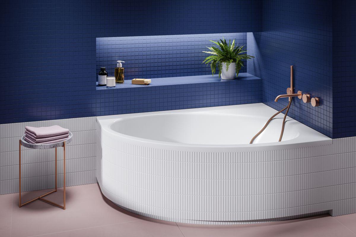 Komfortowa łazienka z wanną