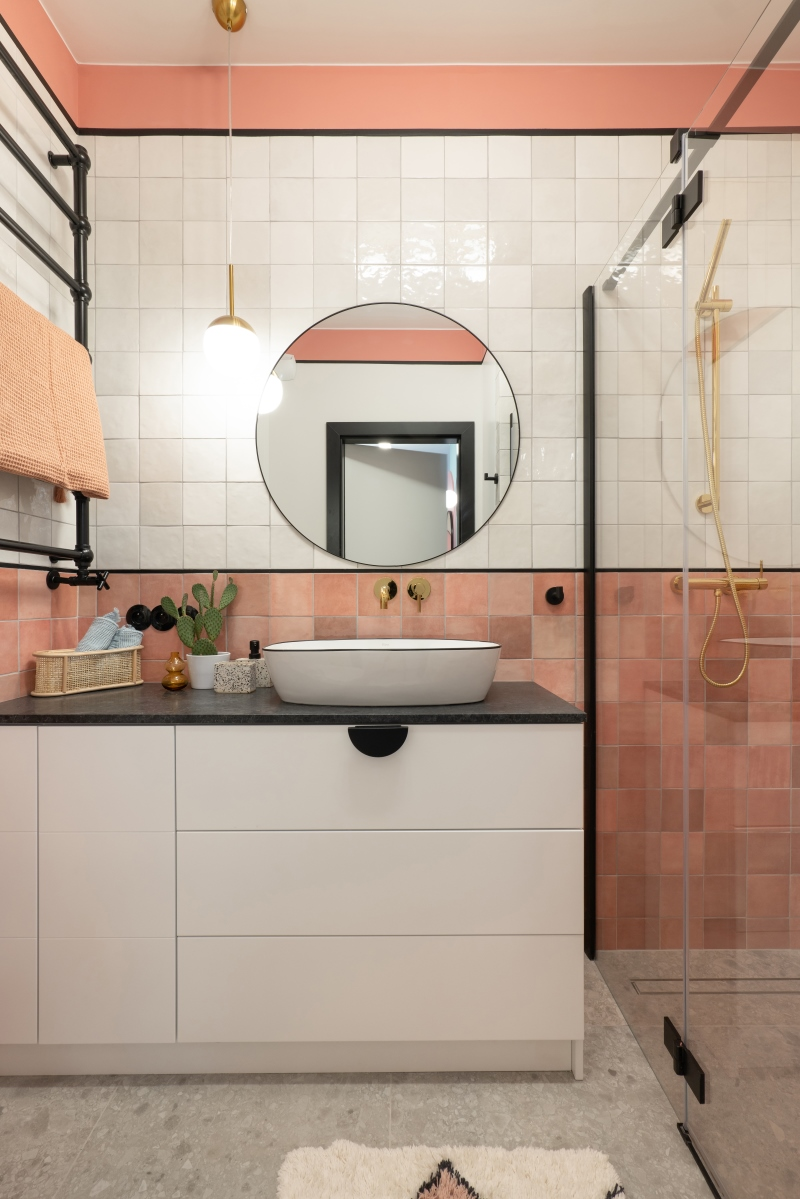 Milleniall Pink w mieszkaniu
