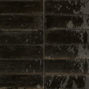 Płytki Marazzi Lume Black M6RP 6 × 24 cm