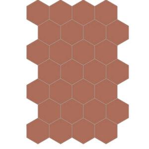 Płytki Bisazza Solid Colors Ruggine (E) 20×23