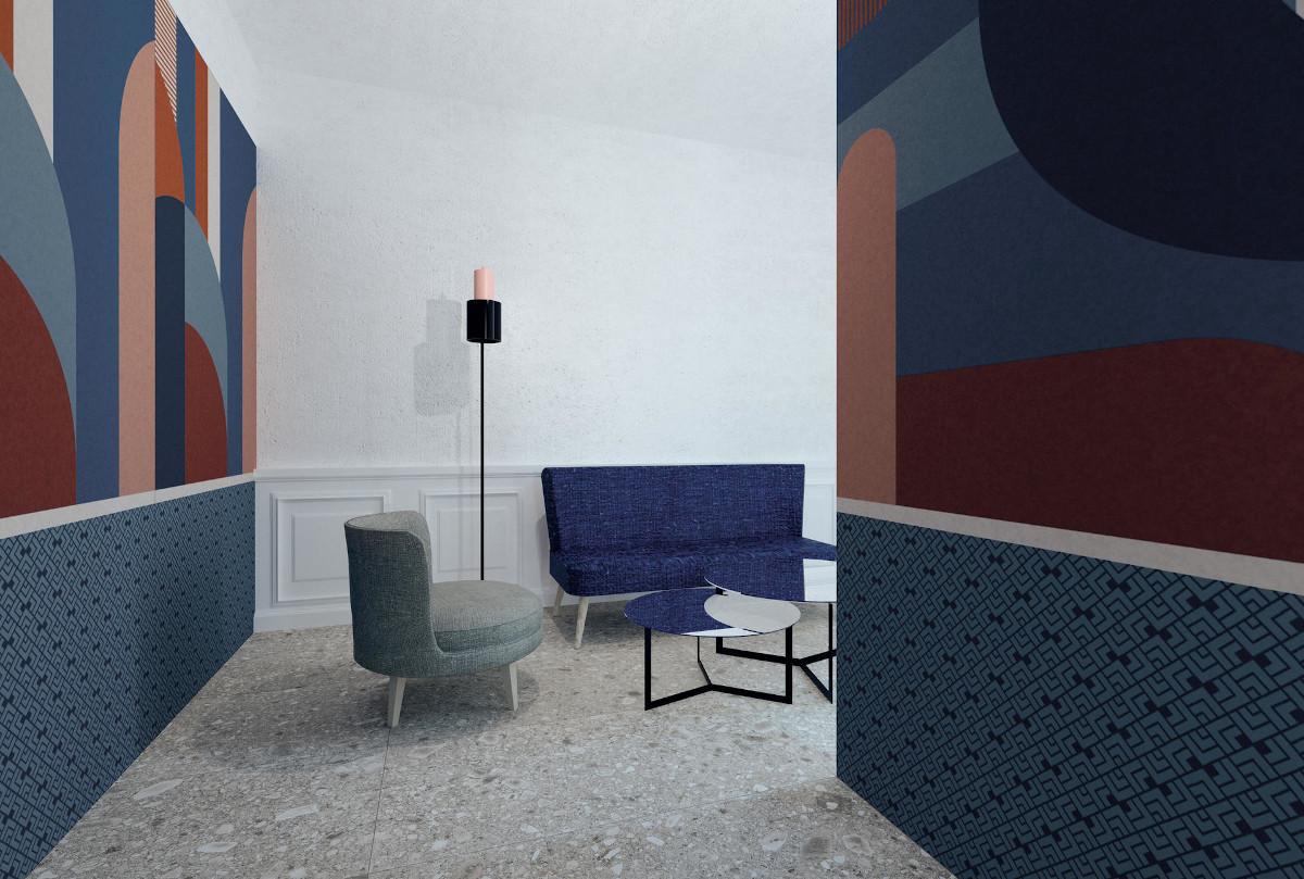 Kolekcja płytek Operae marki Ornamenta jest dostępna w showroomach z Grupy Internity Home