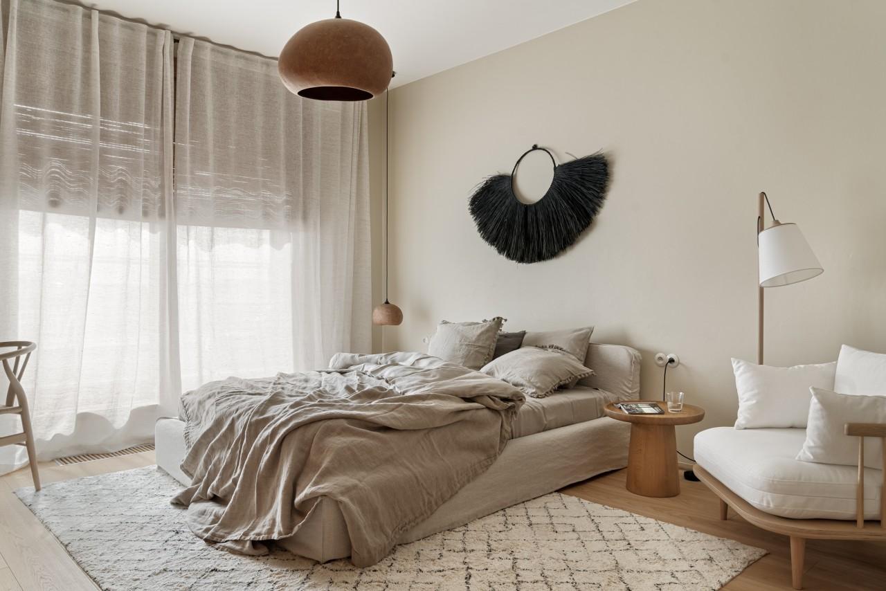 Sypialnia   proj. Finchstudio, fot. Tom Kurek