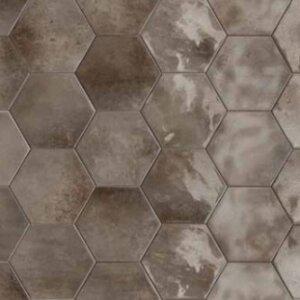 Płytki Terratinta BETONMETAL HEXA GLOSSY 15 x 17