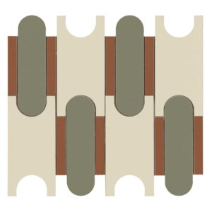 Płytki Marazzi Momenti mosaico puzzle avorio MM 06 30,6×32,8