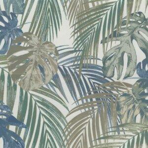 Płytki Marazzi Momenti decoro ferns bianco 80×120