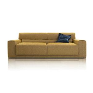 Sofa Bola Nobonobo kolor musztardowy