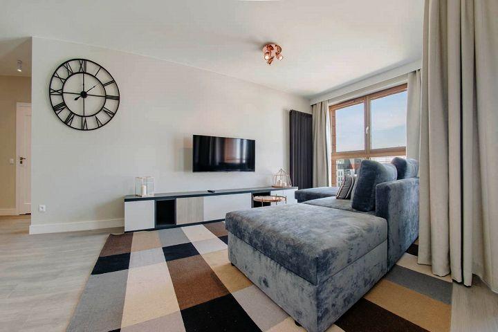 Przykładowe mieszkanie do wynajęcia   proj. FLOW Interiors