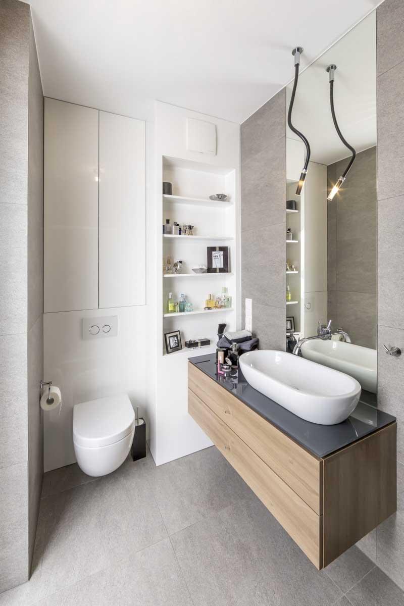 łazienka, pepe pracownia, mieszkanie nad jeziorem