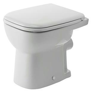 Duravit D-Code Miska toaletowa stojąca biała