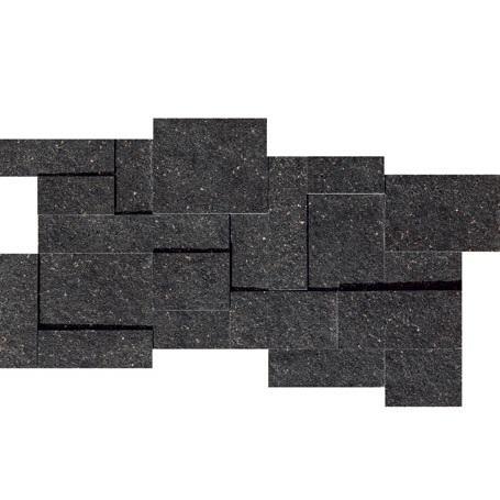 Marazzi Italia Monolith Płytka dekor 30x60 black