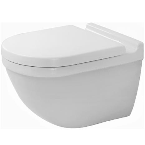 Duravit Starck 3 Miska WC wisząca 36x54 biała