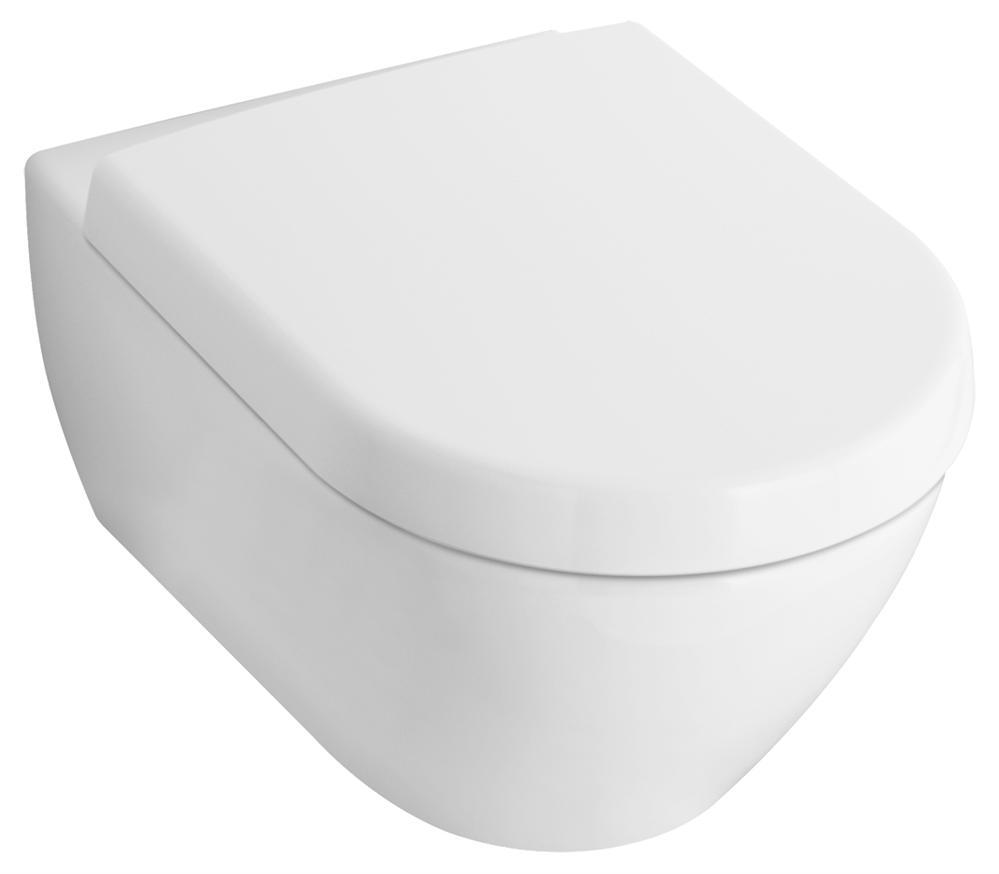 Villeroy & Boch Subway 2.0 miska WC wisząca 355 x 480 mm Weiss Alpin Ceramicplus 560610R1