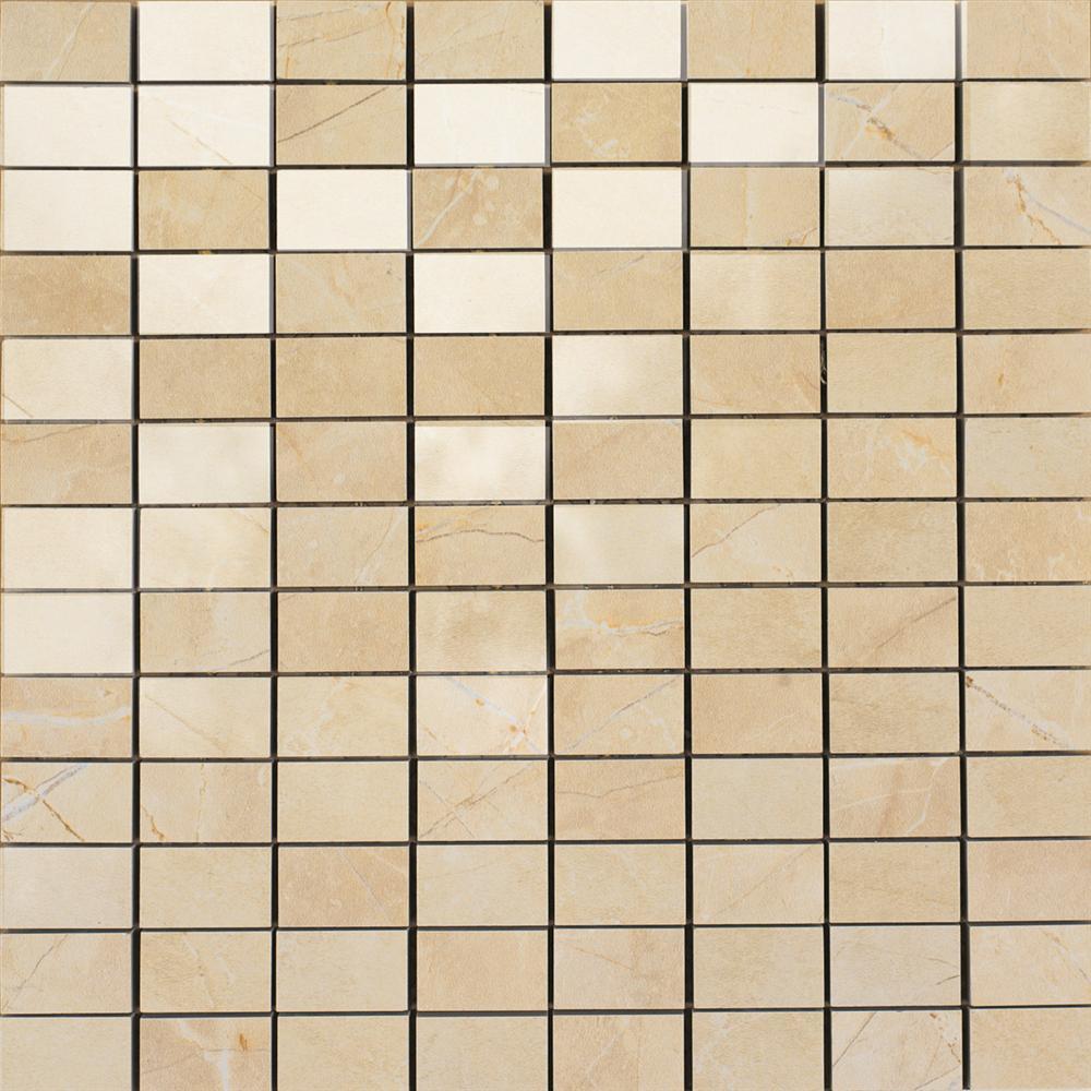 Marazzi Italia Evolution Marble płytka podłogowa Mozaika Golden Cream 30x30